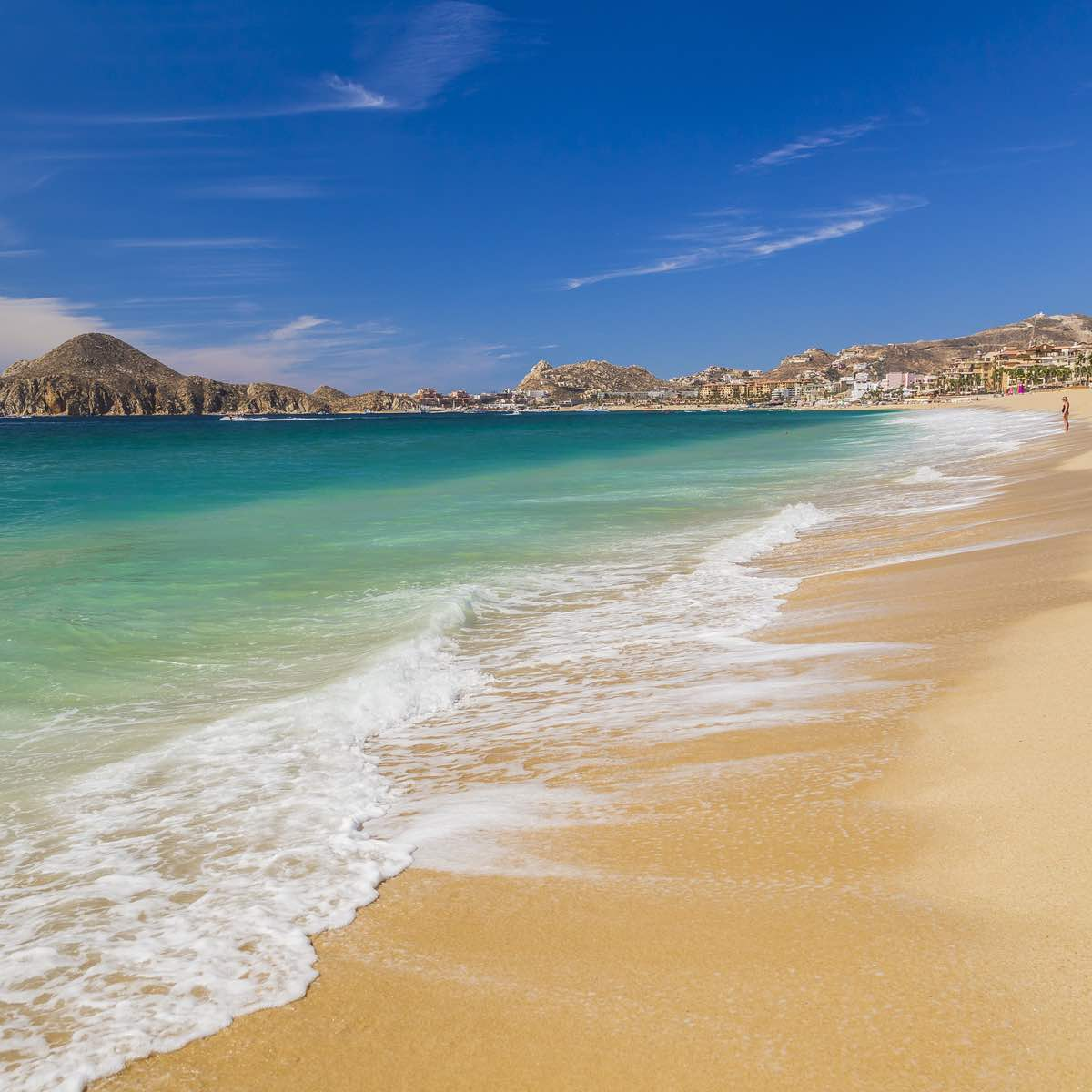 One of the most famous Cabo beaches